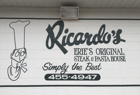 Ricardo's Restaurant building located at 2112 East Lake Road in Erie PA near General Electric.