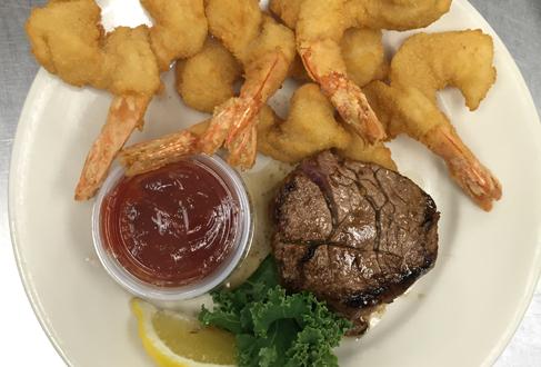 Ricardo S Restaurant 4 Oz Filet Mignon Erfly Shrimp Dinner With Pasta Sampler Fresh